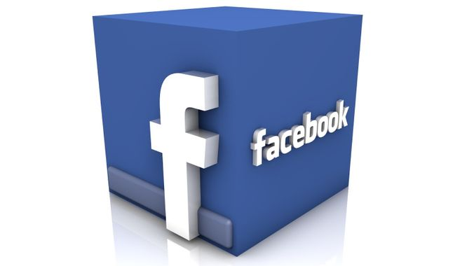 3D Facebook Logo Cube HD Wallpaper Vvallpaper.Net